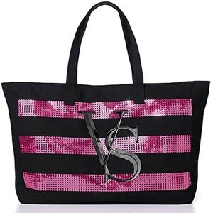 VS Victoria's Secret Rhinestone Tote Bag (BNIP)